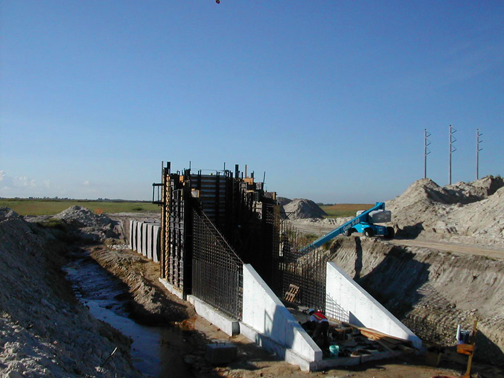 Florida Flood Control Structures
